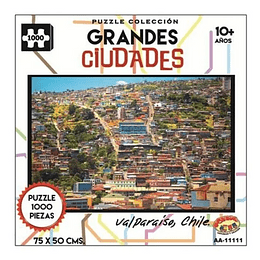 Puzzle Ciudades 1000 Pcs Valparaiso