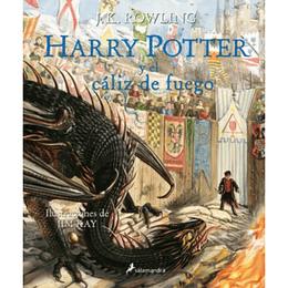 Harry Potter 4 Y El Caliz De Fuego Td Ilustrado