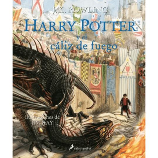 Harry Potter 4. Y El Caliz De Fuego. Edicion Tapa Dura Ilustrada