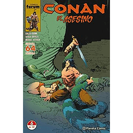 Conan El Asesino N°6/6