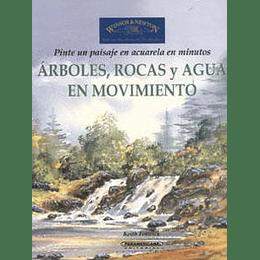 Arboles Rocas Y Agua En Movimiento
