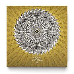 Calendario De Pared 2020 Los Mandalas