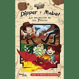 Gravity Falls Dipper Y Mabel La Maldicion De Los Piratas