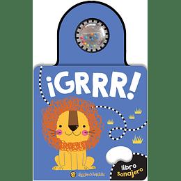 ¡Grrr! Libro Sonajero Azul