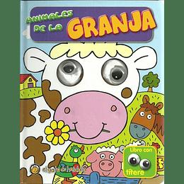 Animales De La Granja (Libro Con Titere)