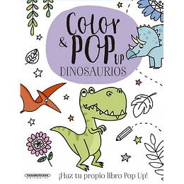 Color Pop Up Dinosaurio