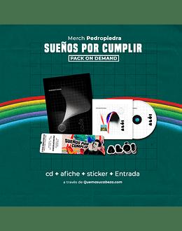 CD + Entrada (PACK ON DEMAND)