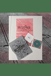 Pack Microonda (Polera + CD + Afiche)