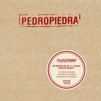 Pedropiedra - Pedropiedra (CD)