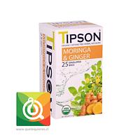 Tipson Infusión Jengibre Moringa