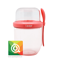 Keep Vaso Yogurt To Go II Rosado
