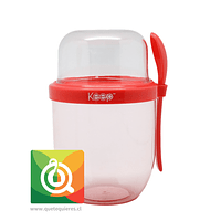 Keep Vaso Yogurt To Go II Rojo