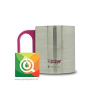 Keep Mug Mini Café Rosado