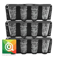 Pack Glasso Set Chile Colection - 12 Vasos