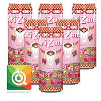 Arizona Nectar Kiwi Frutilla Pack de 6 unidades