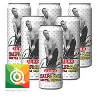 Arizona Té Negro y Limonada Zero Pack de 6 unidades