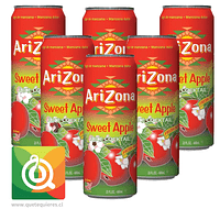Arizona Néctar Manzana - Sweet Apple Pack de 6 unidades