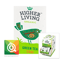 Higher Living Té Verde Chai