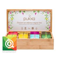 Pukka Presentador de Bambú para 80 bolsitas