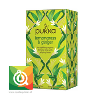 Pukka Infusión Lemongrass y Jengibre