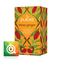 Pukka Infusión Three Ginger