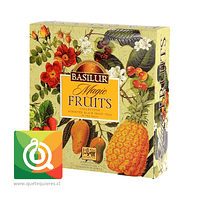 Basilur Surtido de Té Negro Frutal - Gift Magic Fruit Collection