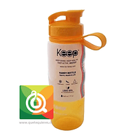 Keep Botella Anatómica Amarilla