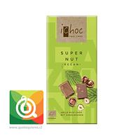 Ichoc Chocolate Nuez - Super Nut - Orgánico y Vegano