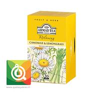 Ahmad infusion Camomile & Lemongrass Relax - Infusión de Manzanilla y Hierbalimón