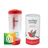 Pack Higher Living Mince Pie + Keep Mug Infusor Rosado
