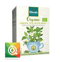 Dilmah Té Verde Orgánico con Menta