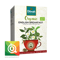 Dilmah Té Negro Orgánico English Breakfast