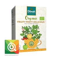 Dilmah Infusión Orgánica Fruity Minty Delicious