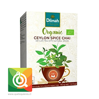 Dilmah Té Negro Orgánico Ceylon Spice Chai