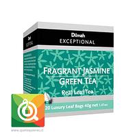 Dilmah Exceptional Té Verde Fragrant Jasmine 20 Pirámides