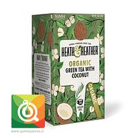 Heath & Heather Té Verde Orgánico Con Coco