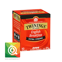 Twinings Té Negro Englis Breakfast Extra Strong