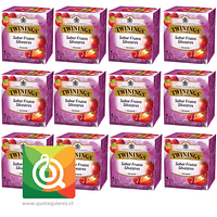 Twinings Infusion Frutos Rojos - Wild Berries Pack 12