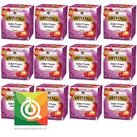 Twinings Infusion Frutos Rojos - Wild Berries Pack 12