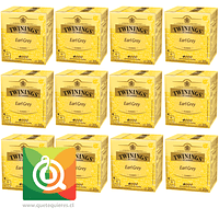 Twinings Té Negro Earl Grey Pack 12
