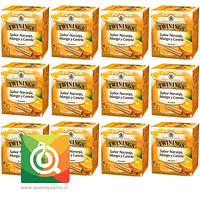 Twinings Infusión Naranja, Mango Y Canela Pack 12
