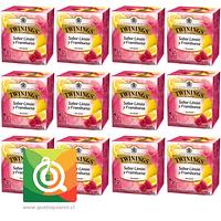 Twinings Infusión Limón Y Frambuesa Pack 12