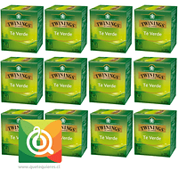 Twinings Té Verde Pack 12