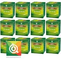 Twinings Té Verde Pack 12