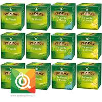 Twinings Surtido Té Verde Pack 12