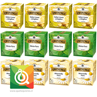 Twinings Surtido Infusiones Clásicas Pack 12