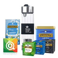 Pack Twinings Surtidos + Infusor Negro