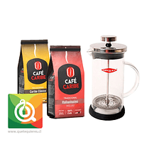 Pack Oroley Cafetera Spezia + Cafés Caribe