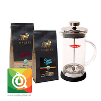 Pack Oroley Cafetera Spezia + Cafés Marley Coffee
