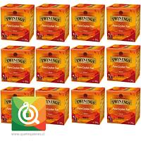 Twinings Té negro Ceylon Pack 12